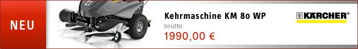 Kehrmaschine KM 80 WP - Brutto 1990,00 €